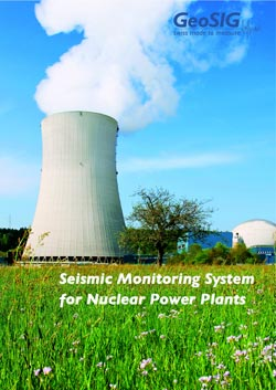 GeoSIG offers structural monitoring solutions for nuclear